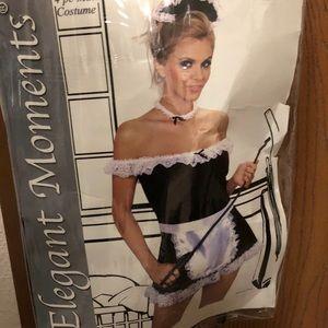 HALLOWEEN SEXY MAID COSTUME